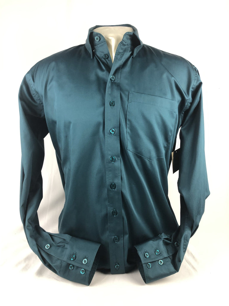 CR RanchWear Physical CR Western Pro Teal Cotton Sateen