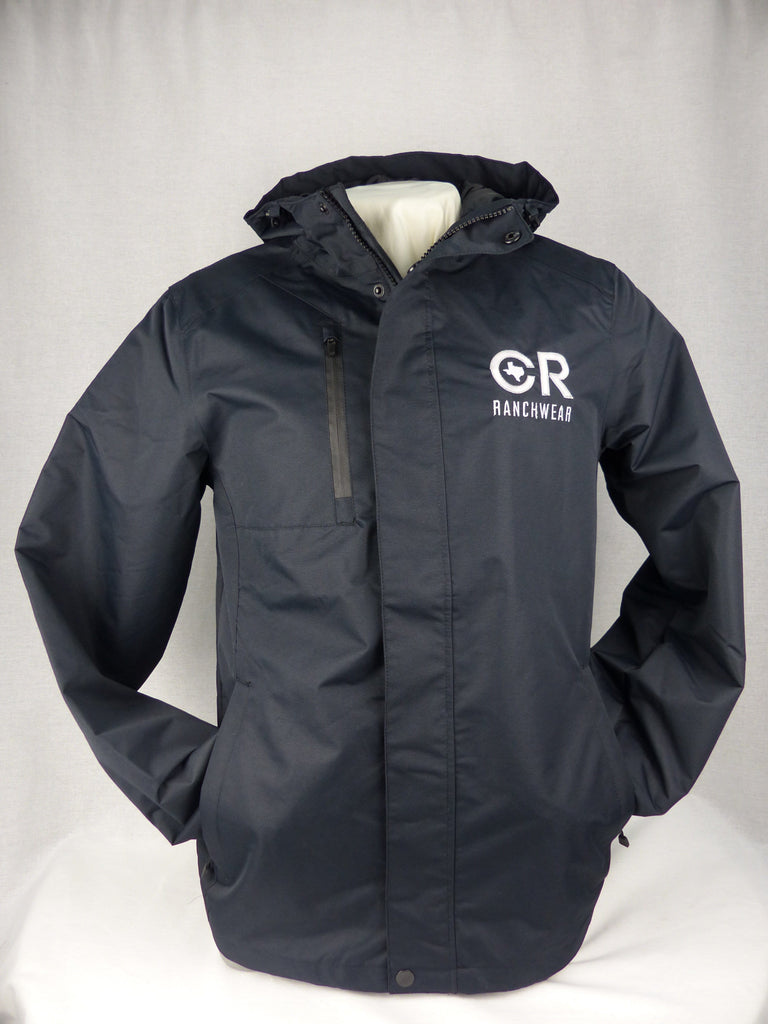 CR RanchWear Physical Men's CR All-Weather Black Jacket