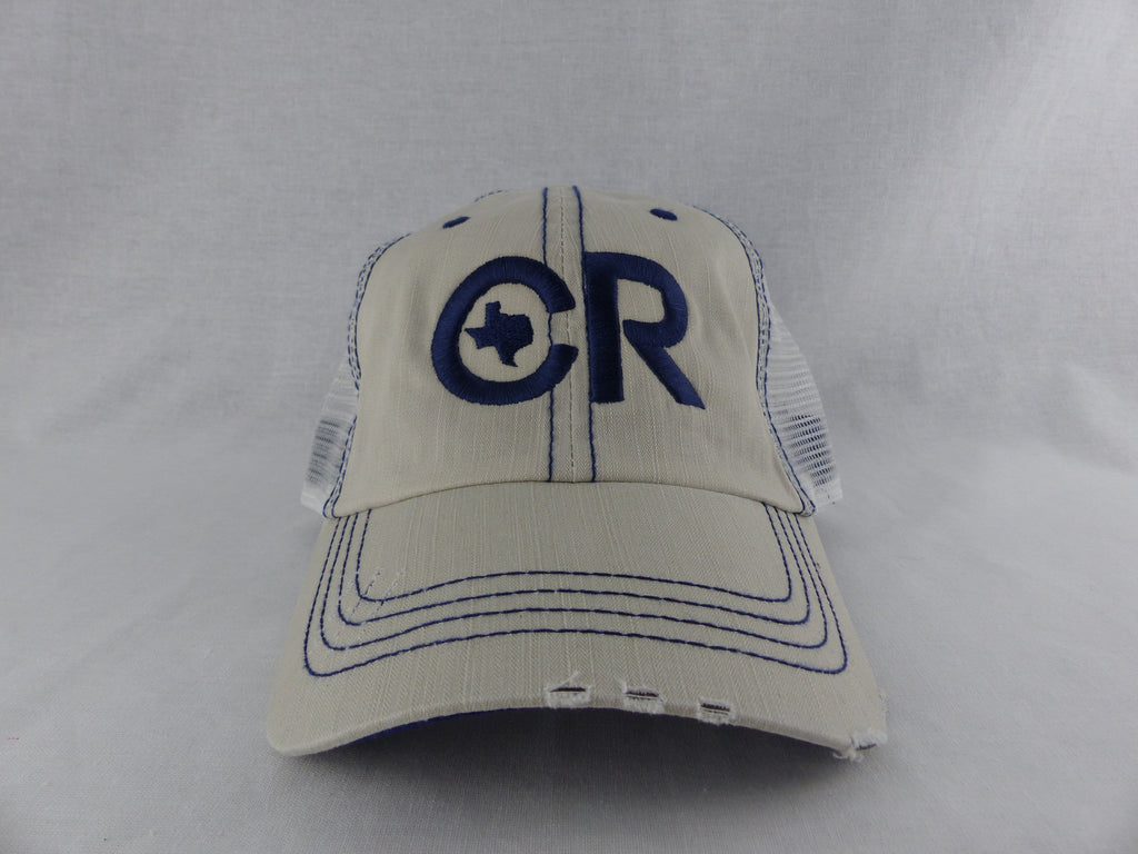 CR RanchWear Physical Weathered Light Gray CR Hat