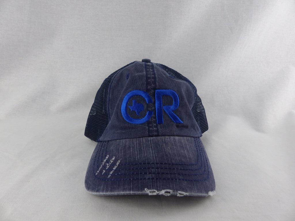 CR RanchWear Physical Weathered Navy CR Hat
