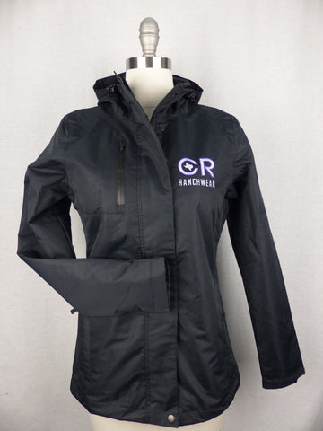 CR RanchWear Physical Women's CR All-Weather Black Jacket