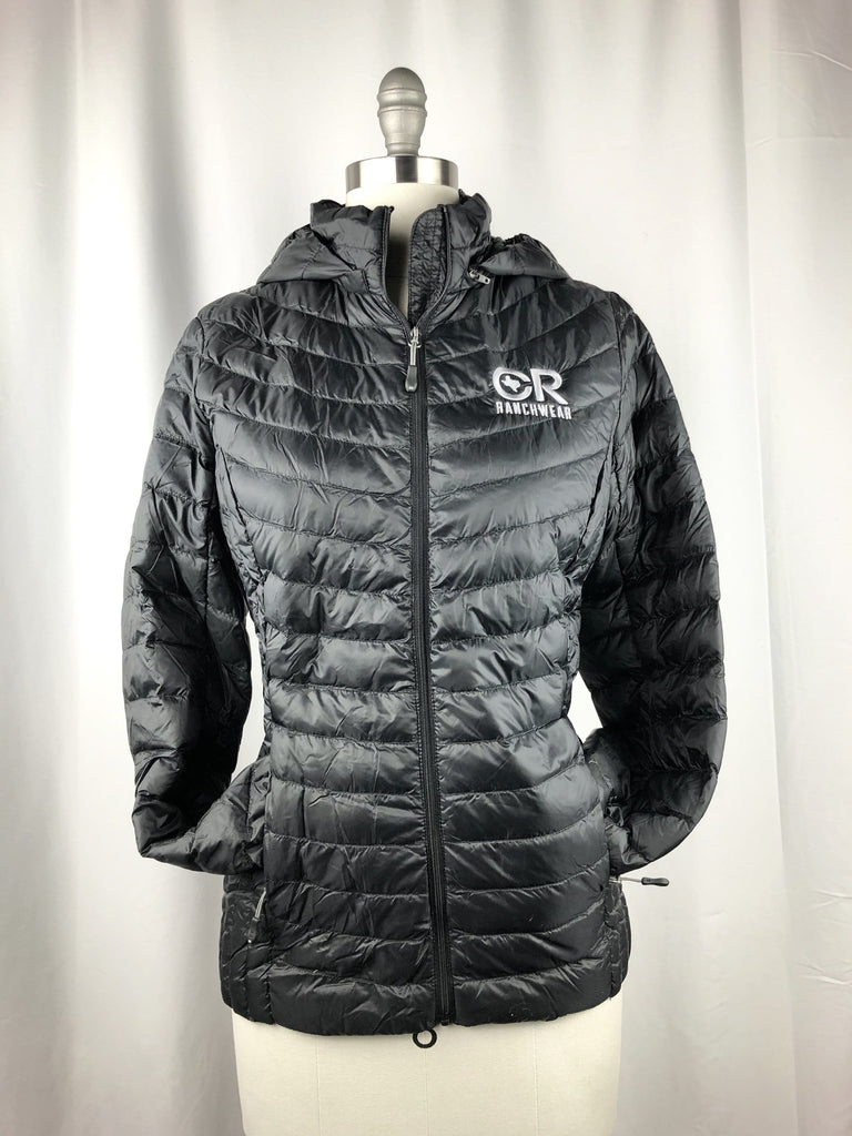 CR RanchWear Physical Women's CR Black Down Jacket