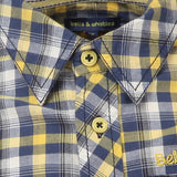 Blue Check Shirt for Boys