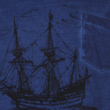 Blue Cruise Cotton Tee for Boys