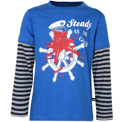 Blue Cruise Tee for Boys