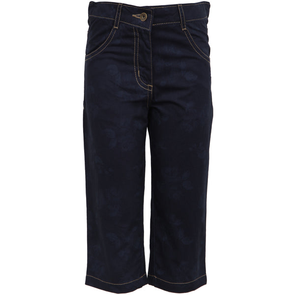 Bells and Whistles Navy Twill Capri