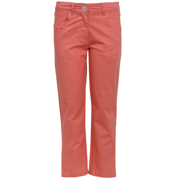 Girls Pink Trouser