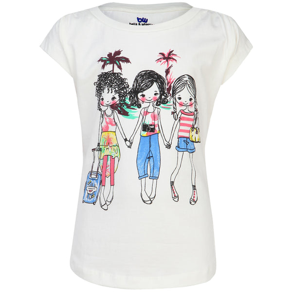Holiday Themed Girls Tee 11