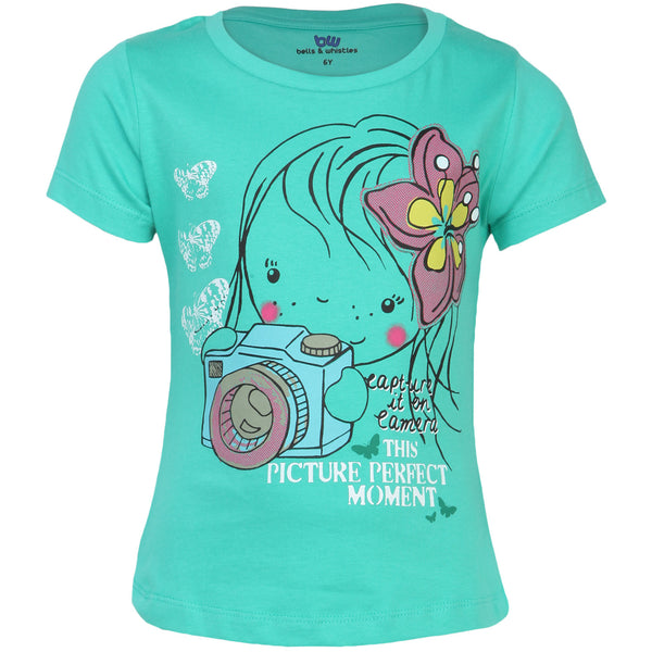 Bells and Whistles Holiday Themed Girls Tee