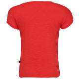 Red Stylized Tee for Girls