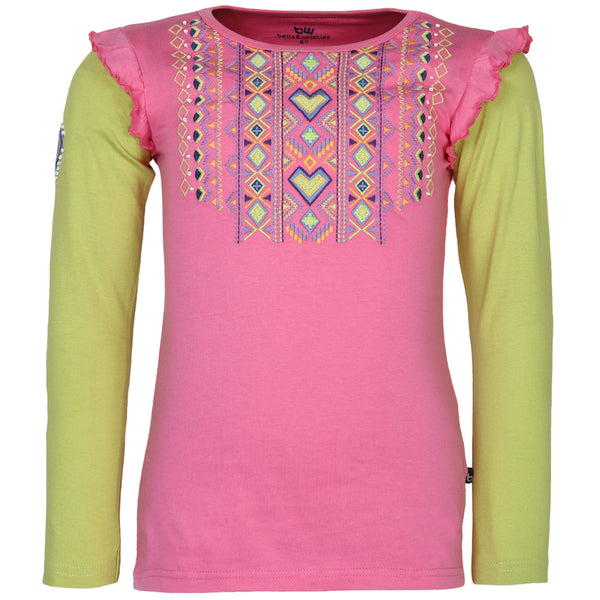 Embroidared Tee for Girls