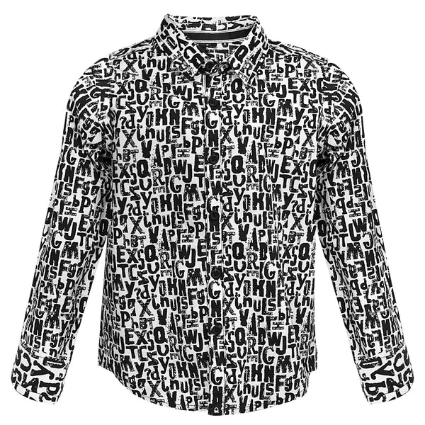 Alphabetical Printed Boys Shirt