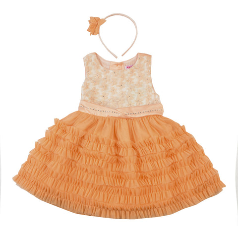 Nautinati Ruffle Party Dress