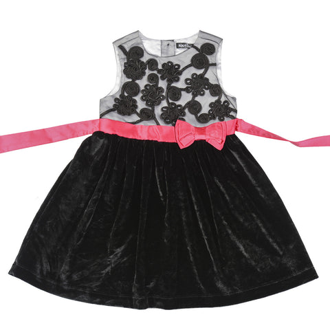 Nautinati Sequence Glitter Party Dress