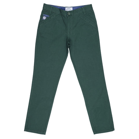Nautinati Green Boys Trouser