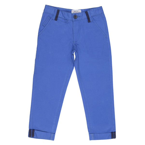 BOYS BLUE CHINOS