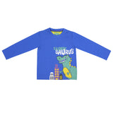 Boys Blue Graphic T-Shirt