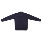 Bow Sequine Emb. Girls Sweater