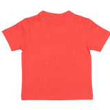 Boys Red Round Neck T-Shirt