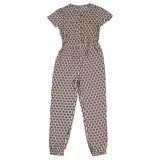 Girls Black & White Jumpsuit