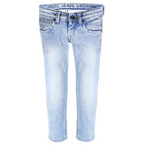 BERNOUN-J Boys Sky Blue Cotton Jeans