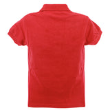 CLARK-J SS Boys Red Cotton T-Shirt