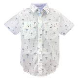 DORSET-J SS Boys White Cotton Shirt
