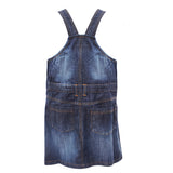 Girls Blue Denim Jumpsuit