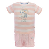 Boys Peach Top & Bottom Set