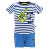 Boys Blue Top & Bottom Set