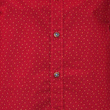 Boys dots Prited F/s shirt
