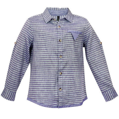 Boys Stripes F/s Shirt