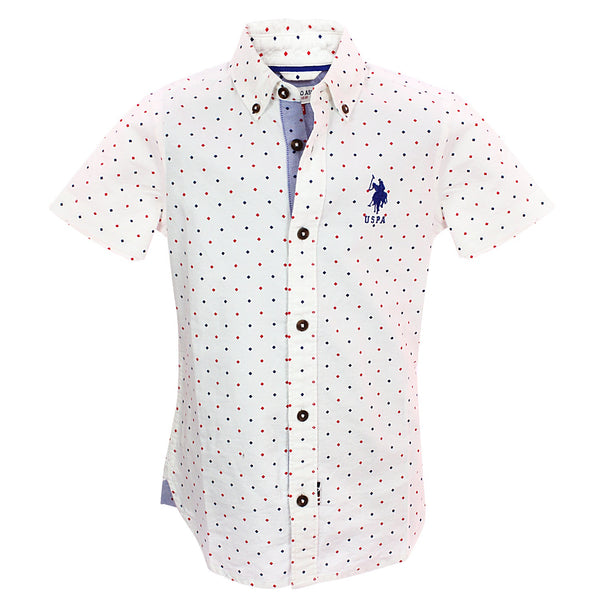 Boys H/s Printed Shirt