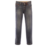 Boys Brown Denim