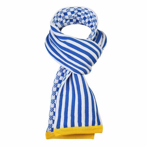 Boys 2 WAY BLUE NECK WRAP