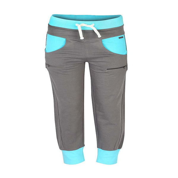 Boys GREY BOTTOM TRACKS-PANT SCOOP POCKET
