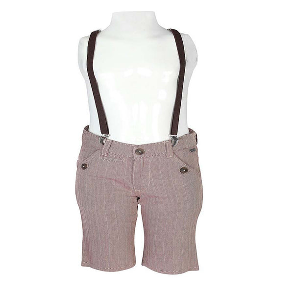 Boys Brown Hiphop with Stylized Back Pocket