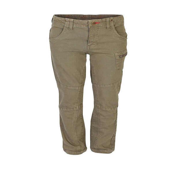 Boys Olive Green Full Pant with Metal Zipper
