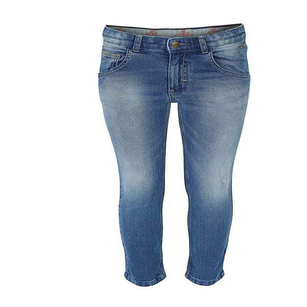 Boys Indigo Bottom Jeans with Worn Out Look