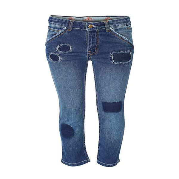 Boys Indigo Distressed Jeans