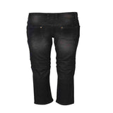 Boys Black Slim Fit Bottom Jeans