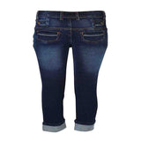 Boys Slim Fit Jeans with back welted Pockets with flap