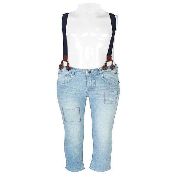 Boys Sky Blue Bottom Jeans