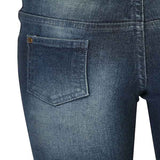 Boys Dark Blue Bottom Jeans