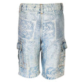 Boys LIGHT INDIGO BOTTOM SHORTS