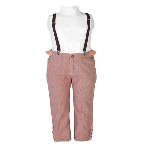 Boys PEACH JODHPURI BOTTOM TROUSER