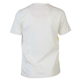 Boys OFF WHITE V NECK TEE WITH PATCH POCKET