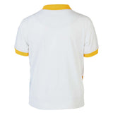 Boys YELLOW MULTI PRINT POLO