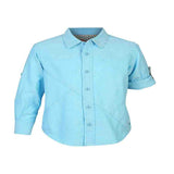 Boys Blue Oxford Shirt