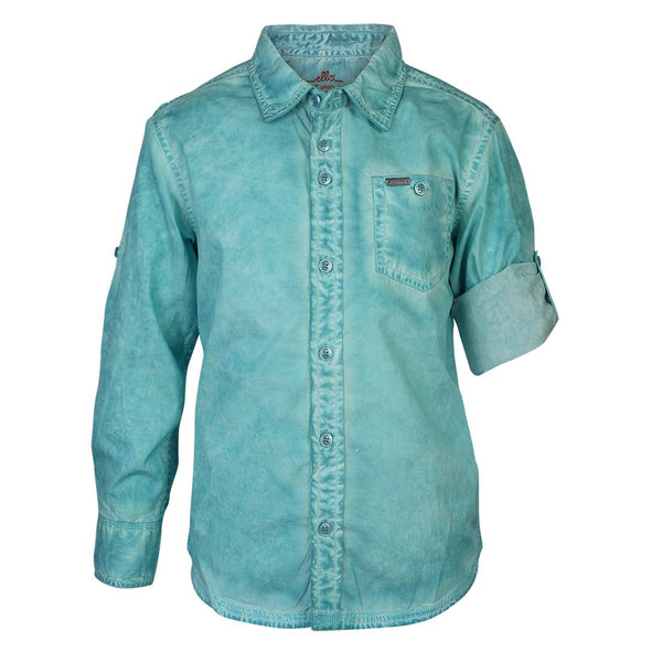 Boys Blue CPD Wash Shirt With Epaulets